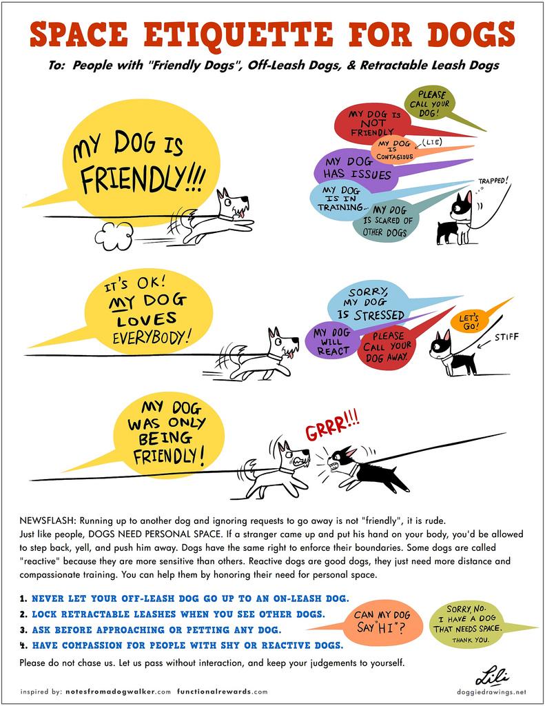 honden uitvallen aan de lijn