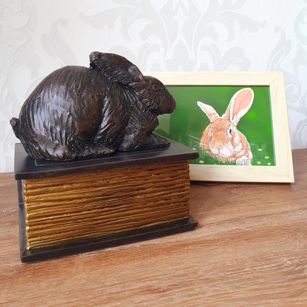 urn konijn dierencrematorium Memoria